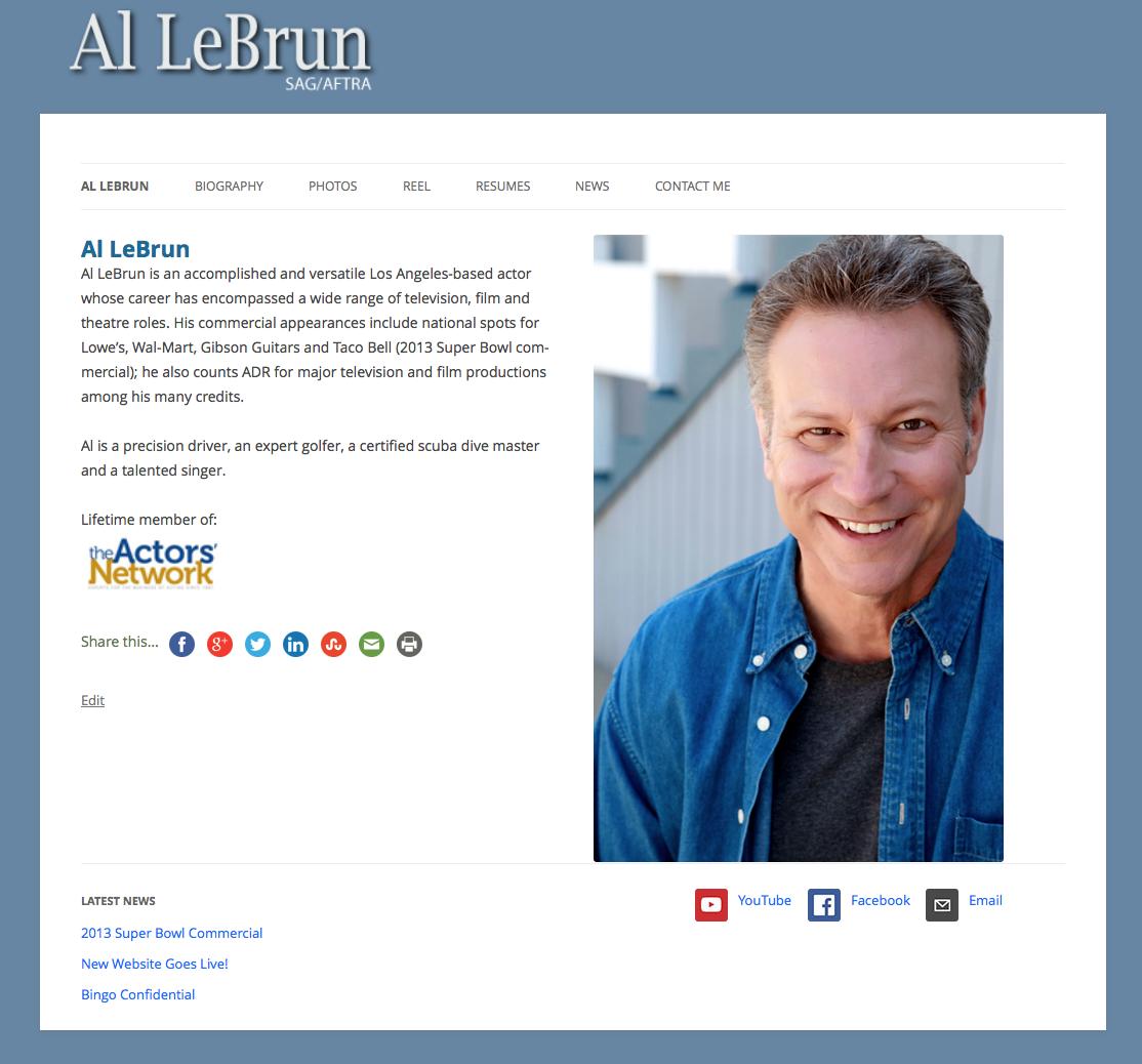 Al LeBrun Home Page